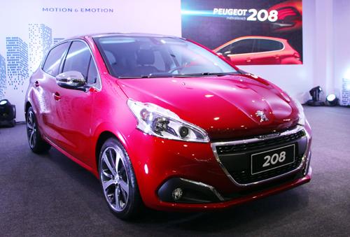 Peugeot 208 phiên bản mới giá từ 895 triệu đồng 1