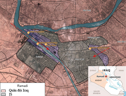 300 phiến quân IS dồn mình vào cửa tử 2