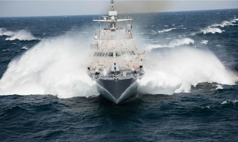 Tàu chiến mới nhất của Mỹ hỏng sau 20 ngày biên chế