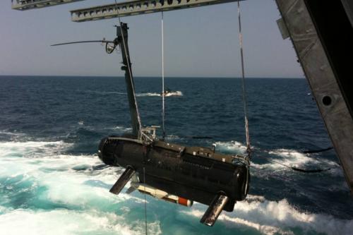 Hệ thống Săn Thuỷ lôi Từ xa (RMS). Ảnh: LockheedMartin