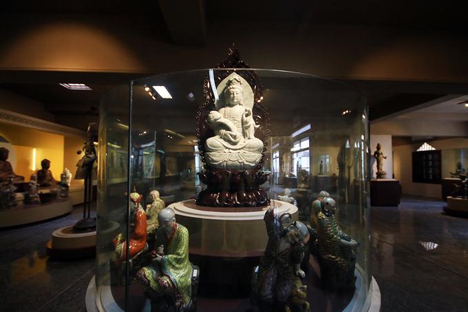 Kho báu trong bảo tàng Phật giáo đầu tiên ở Việt Nam