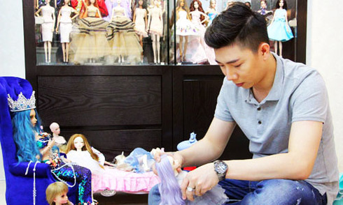 Bộ sưu tập búp bê tiền tỷ của chàng trai Sài Gòn
