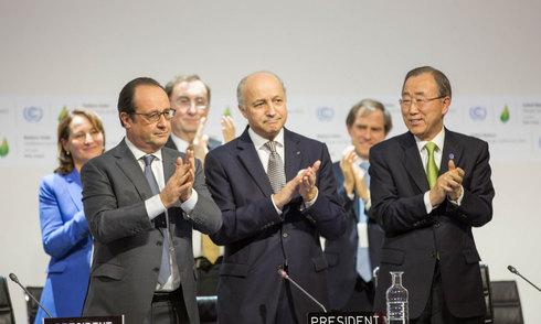 Gần 200 nước đạt thỏa thuận lịch sử về biến đổi khí hậu