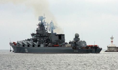Tàu Thổ Nhĩ Kỳ cản đường tàu Nga trên Biển Đen