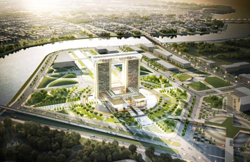 Về lâu dài, rất cần thiết xây dựng Trung tâm hành chính tập trung cho đô thị thông minh Cần Thơ. Ảnh: Cửu Long