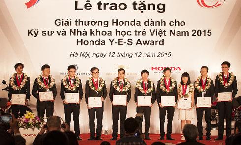 Sinh viên Việt nhận giải 'Honda Y-E-S' trị giá 30.000 USD