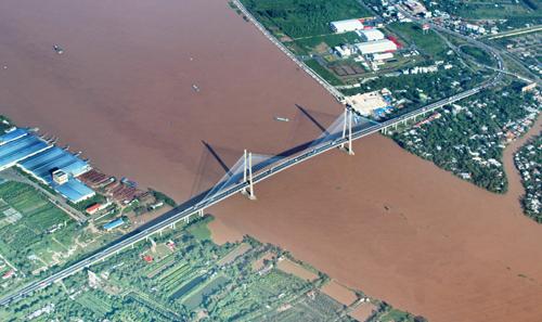 7.500 tỷ đồng xây cầu Mỹ Thuận 2 vượt sông Tiền 1