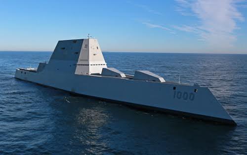 Khu trục hạm mới giống Kim tự tháp cắt đỉnh của Mỹ 1