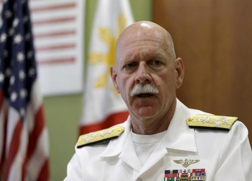Đô đốc Scott Swift, chỉ huy Hạm đội Thái Bình Dương của Mỹ. Ảnh: AP.