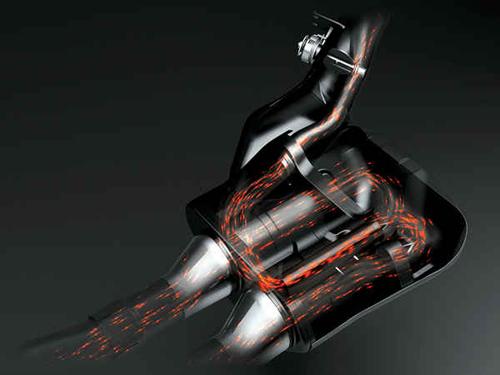 Bí mật hệ thống ống xả trên xe máy 2