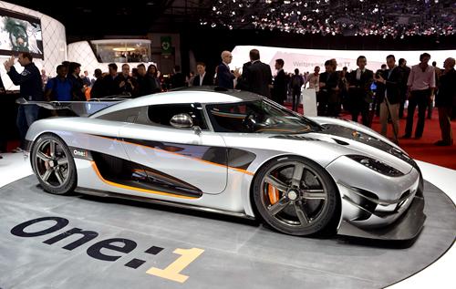 Siêu phẩm Koenigsegg One:1 đặc biệt giá 6 triệu USD 1