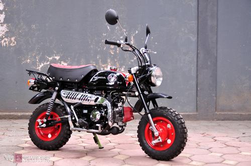 Honda Kumamon Monkey - xe khỉ đặc biệt ở Hà Nội.