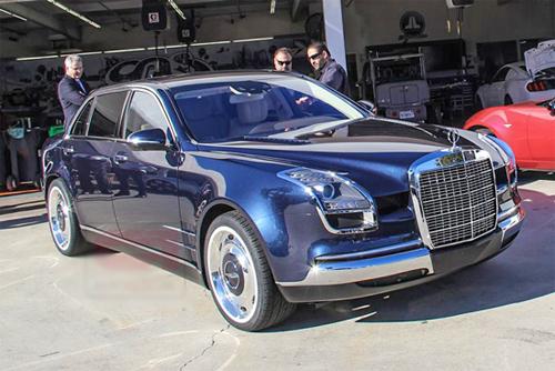 """Xe độ phong cách """"hợp chủng"""" Mercedes 1"""
