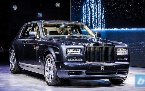 Rolls-Royce triệu hồi Phantom vì lỗi túi khí 1
