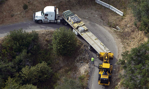 Xe tải mắc kẹt ở khúc cua vì nhờ GPS dẫn đường 1
