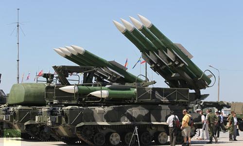 Nga tăng mắt thần giám sát không phận Syria bằng tên lửa BUK 2