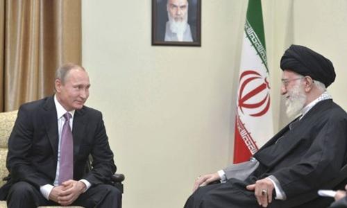 Nga - Iran kề vai sát cánh trong xử lý khủng hoảng Syria 1