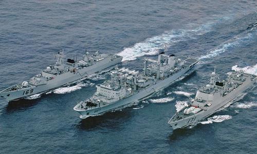 Hiệp đồng tác chiến - trọng tâm diễn tập trên biển của Trung Quốc 1