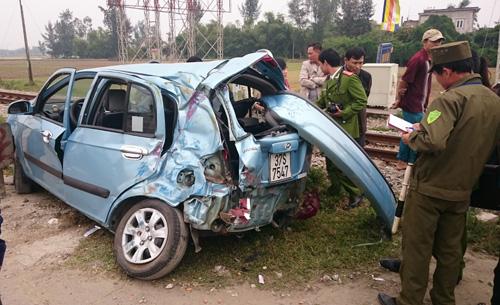 Hai vụ tai nạn tàu hỏa cách nhau một giờ ở Vinh 1