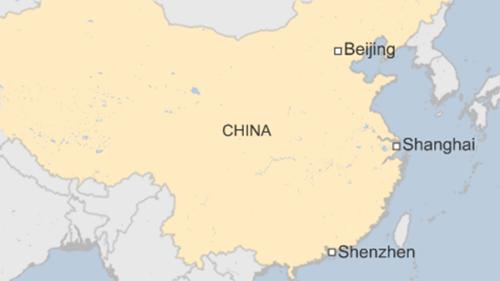 Vị trí thành phố Thâm Quyến, tỉnh Quảng Đông. Đồ họa: BBC