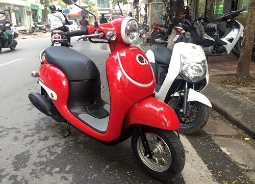 Những mẫu xe máy không cần bằng lái tại Việt Nam 4