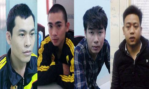 Bốn thanh niên bị bắt vì bắn hai nghi can trộm chó