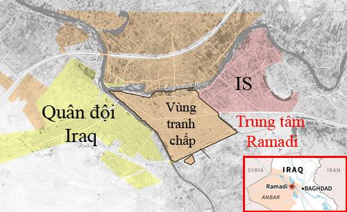Toán quân IS ở Ramadi giãy chết 2