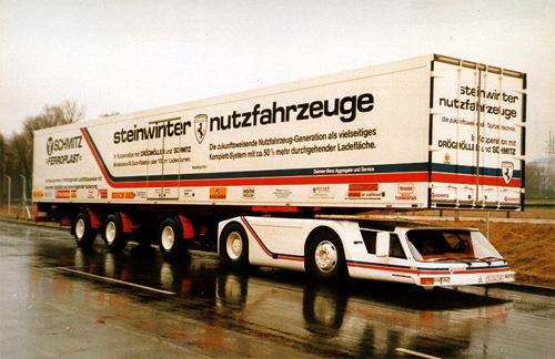 Steinwinter Supercargo - xe tải kỳ cục nhất thế giới 1