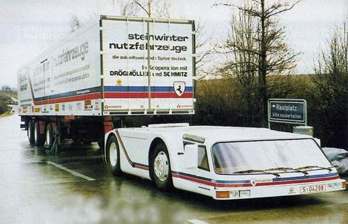 Steinwinter Supercargo - xe tải kỳ cục nhất thế giới 2
