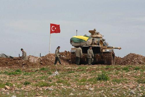 Thổ Nhĩ Kỳ tứ bề thọ địch 1