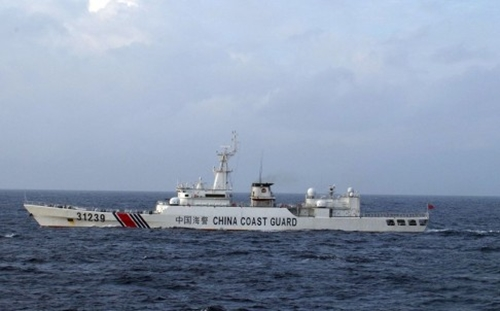 Tàu Hải cảnh 31239 của Trung Quốc. Ảnh: AP.