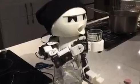 Hàn Quốc chế robot làm bạn nhậu
