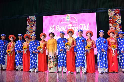 Lần đầu tiên tổ chức đám cưới tập thể cho công nhân ở Đà Nẵng 1
