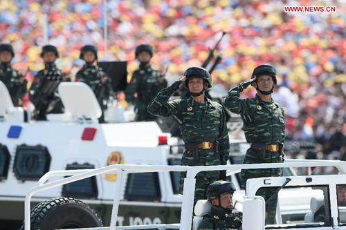 Quân đội Trung Quốc truy lùng khủng bố tới tận đâu theo luật mới 2