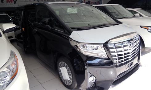 Toyota Alphard Excutive Lounge giá 3,9 tỷ đồng tại Việt Nam 1