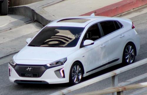 Hyundai Ioniq - xe hybrid cỡ nhỏ 1