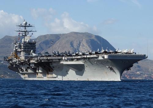 Tàu sân bay USS Harry Truman. Ảnh: Wikipedia