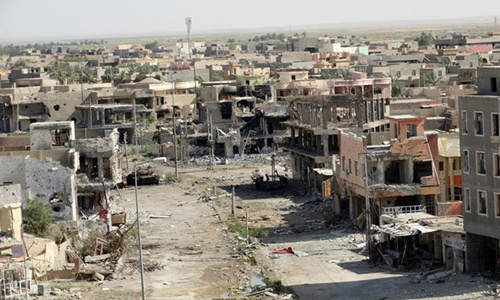 Cảnh sống mà như chết bên trong thành phố Ramadi 1