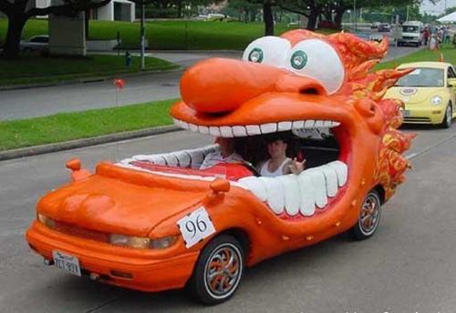 Những mẫu xe kỳ quặc nhất thế giới 4