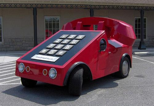 Những mẫu xe kỳ quặc nhất thế giới 5