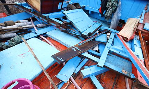 Ngư dân Quảng Ngãi: 'Tàu của tôi bị đâm dồn dập đến khi chìm hẳn'