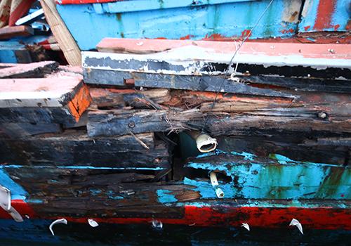 """Ngư dân Quảng Ngãi: """"Tàu của tôi bị đâm dồn dập đến khi chìm hẳn"""" 3"""