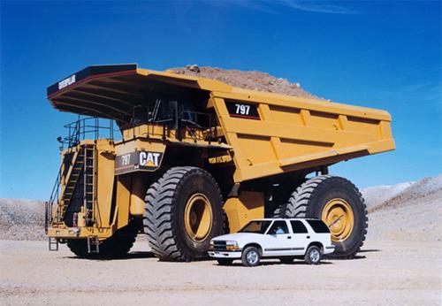 Những cỗ xe tải khổng lồ nhất thế giới 4