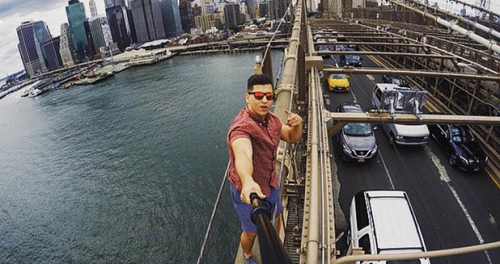 Chàng trai sống ởTennesse này bị bắt vì tội bất chấp pháp luật chụp ảnh 'tự sướng' và đăng tải lên Instagram.