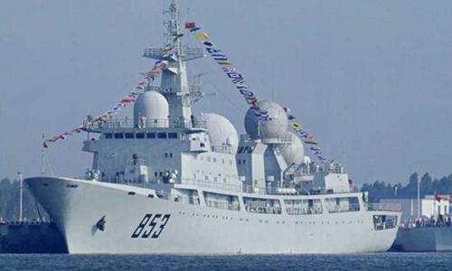 Trung Quốc triển khai tàu nghe lén công nghệ cao mới 1