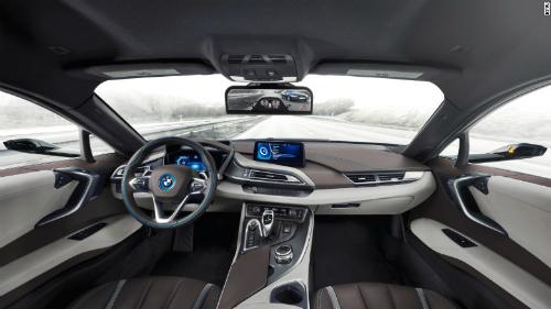 BMW i8 mới bỏ gương chiếu hậu truyền thống 3