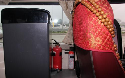 Xe dưới 16 chỗ thiếu bình cứu hỏa vẫn được đăng kiểm 1