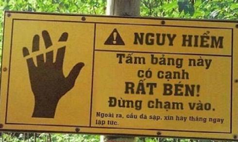 Những bảng chú ý 'độc đáo' nhất Việt Nam