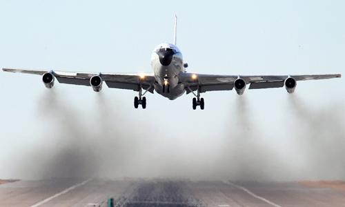 Máy bay đánh hơi phóng xạ - thám tử dò bom nhiệt hạch Triều Tiên 1