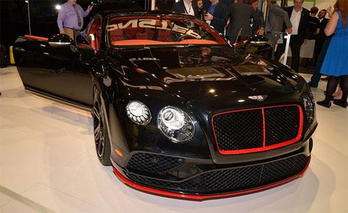 Xe Bentley dùng âm thanh khủng
